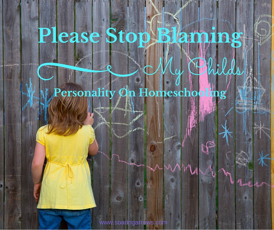 Please Stop Blaming