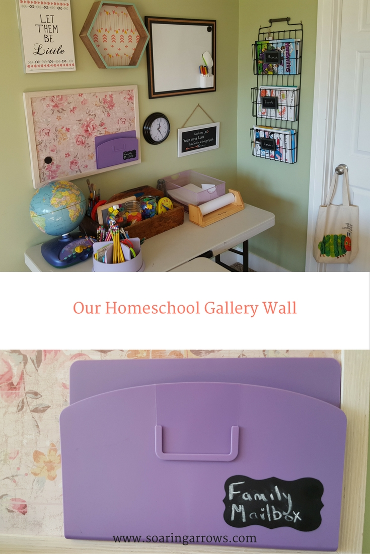 Our Homeschool Gallery Wall